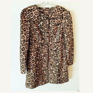Jackets & Blazers - *New* Animal Print Light Weight Trench Coat